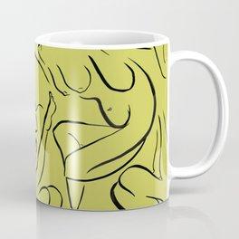 Nude Pattern Coffee Mug