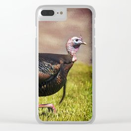 Gobbler Clear iPhone Case