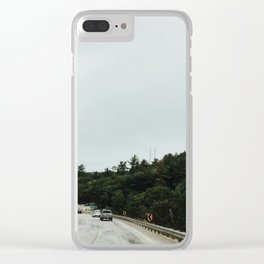 HWY 144 Clear iPhone Case
