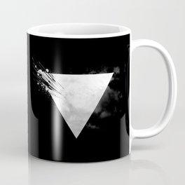 Abstract Triangle bw Coffee Mug
