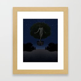The Safety Series - Safe Under the Stars Framed Art Print