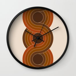 Cocoa Chain Wall Clock