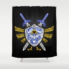 Heroes Legend - Zelda Shower Curtain