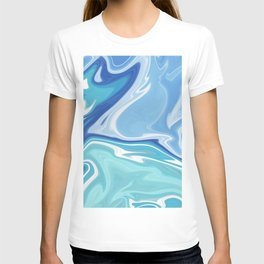 MARBLE - SEA - CLOUDS - SMOKE - WAVES T-shirt