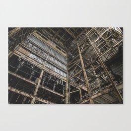 Scaffolding Canvas Print