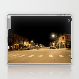 Gold Rush Era Town - Silverton at Night Laptop & iPad Skin