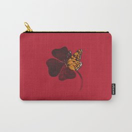 By Chance Red Carry-All Pouch