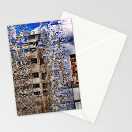 Old factory Montreal Stationery Cards