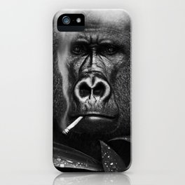 Relaxed Gorilla iPhone Case