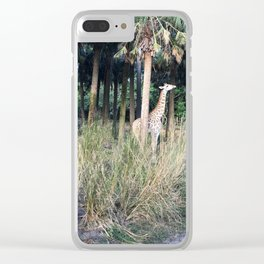 A Little Boy with Sass Clear iPhone Case
