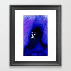Bearded Gorilla Framed Art Print