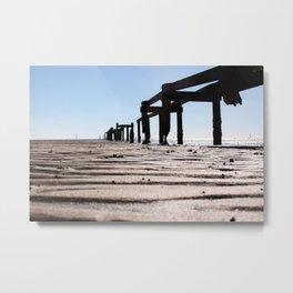Gulport Pier Metal Print