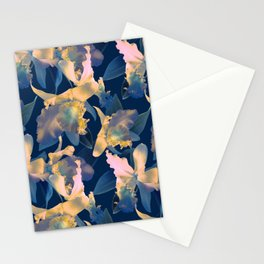 Underwater Orchid Stationery Cards