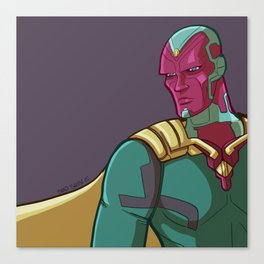 Vision from the MCU Canvas Print