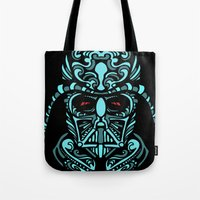 darth Tote Bags featuring Darth James Darth by Quakerninja