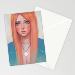 Orange Sea Breeze Stationery Cards