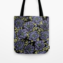 Roses in the Dark Tote Bag