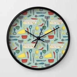 Italian Food Wall Clock