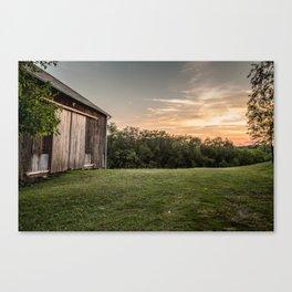 Pennsylvania Barn Canvas Print