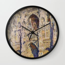 Claude Monet : Rouen Cathedral Wall Clock