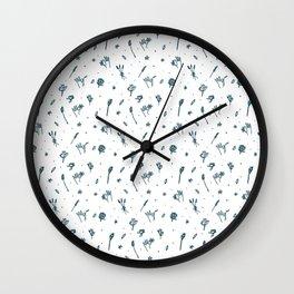 Spring Picking (emerald) Wall Clock