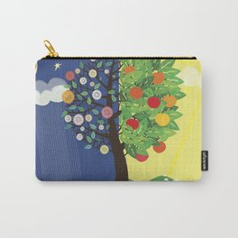 """Seasons"" Spring-Summer Carry-All Pouch"
