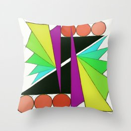Simple cuts 2 Throw Pillow