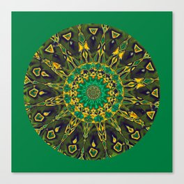 Colorful Mandala RQ Canvas Print
