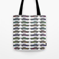 muscle Tote Bags featuring muscle by ErsanYagiz