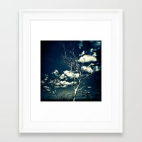breathe Framed Art Prints featuring BREATHE by Steffen Remter