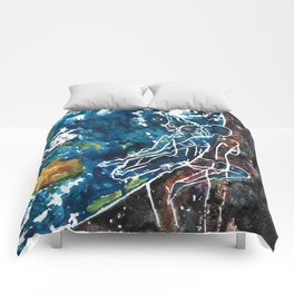 Mother Earth and Father Sky Make Love Comforters