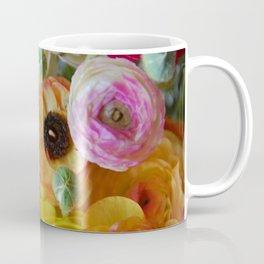 Bunch of Ranunculus Flowers Coffee Mug