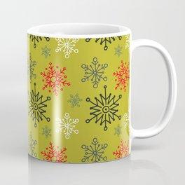 Christmas Snowflakes Pattern 1 Coffee Mug