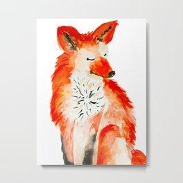 Felicity Fox Metal Print