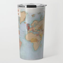 Indiana Jones Inspired Map // Indiana Jones Journey and Artifacts Travel Mug