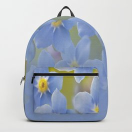 Forget-me-not flowers - summer beauty #society6 #buyart Backpack