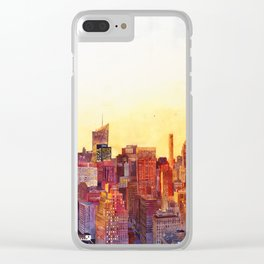 Sunshine in NYC Clear iPhone Case