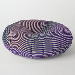 Fancy Curves II Floor Pillow