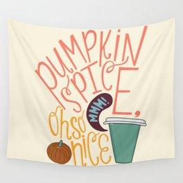 Pumpkin Spice Wall Tapestry