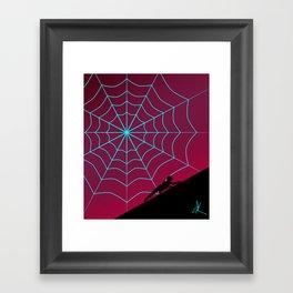 Spider Twilight Series - Spider-Gwen Framed Art Print