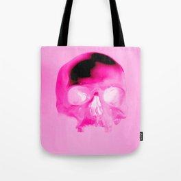 Magenta Skull Tote Bag