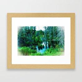 Fading Memories Framed Art Print