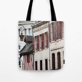 Windows in Dijon Tote Bag