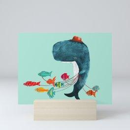 My Pet Fish Mini Art Print