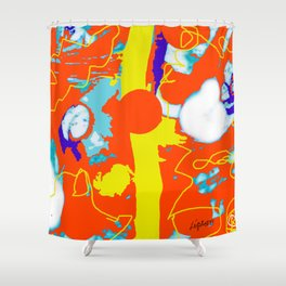 Holiday Excursion        by Kay Lipton Shower Curtain