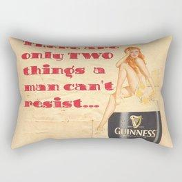 Guinness - Vintage Beer Rectangular Pillow
