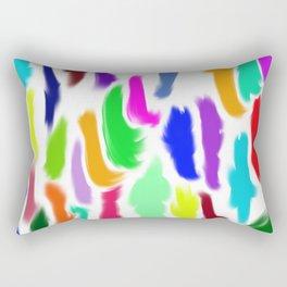 Colors of Humanity Rectangular Pillow