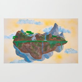 Noon's Floating Island #2 Rug