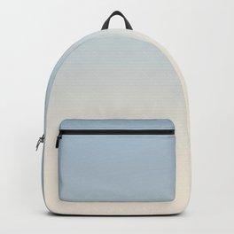 IVORY BONES - Minimal Plain Soft Mood Color Blend Prints Backpack