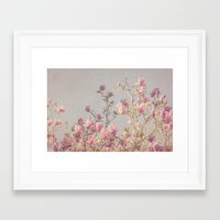 magnolia Framed Art Prints featuring Magnolia  by Pure Nature Photos